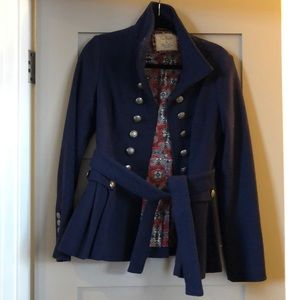 Gorgeous Military Style Pea Coat from Free People